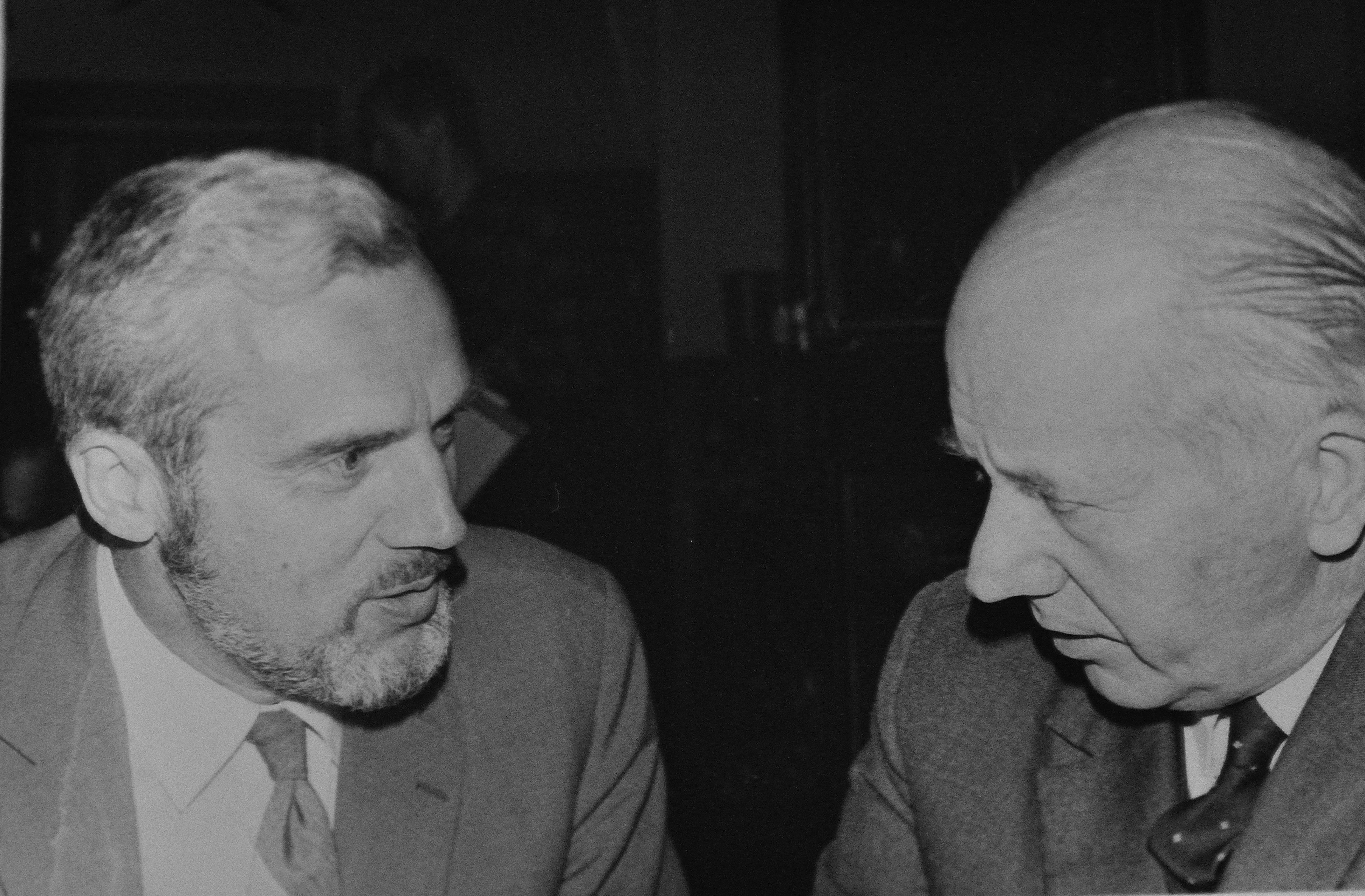 Sven Hagberg och Erik Lundin 1967 - Blasieholmstorg. - Sven_Hagberg_Erik_Lundin_1967